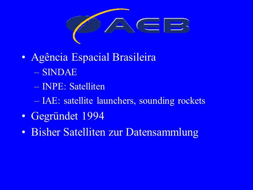 AEB Agência Espacial Brasileira Gegründet 1994