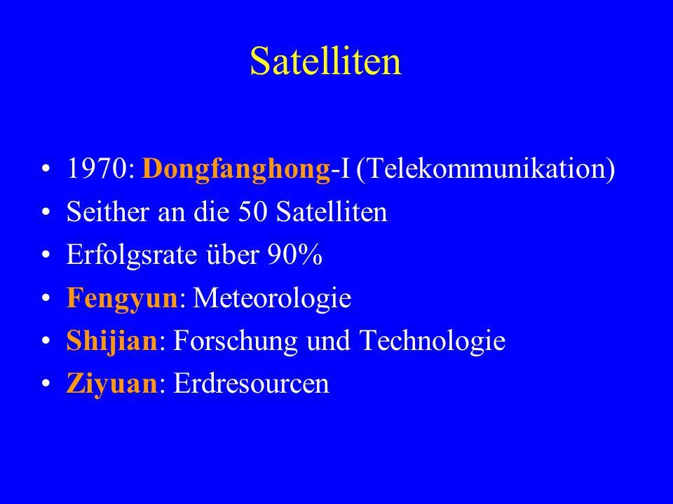 Satelliten 1970: Dongfanghong-I (Telekommunikation)