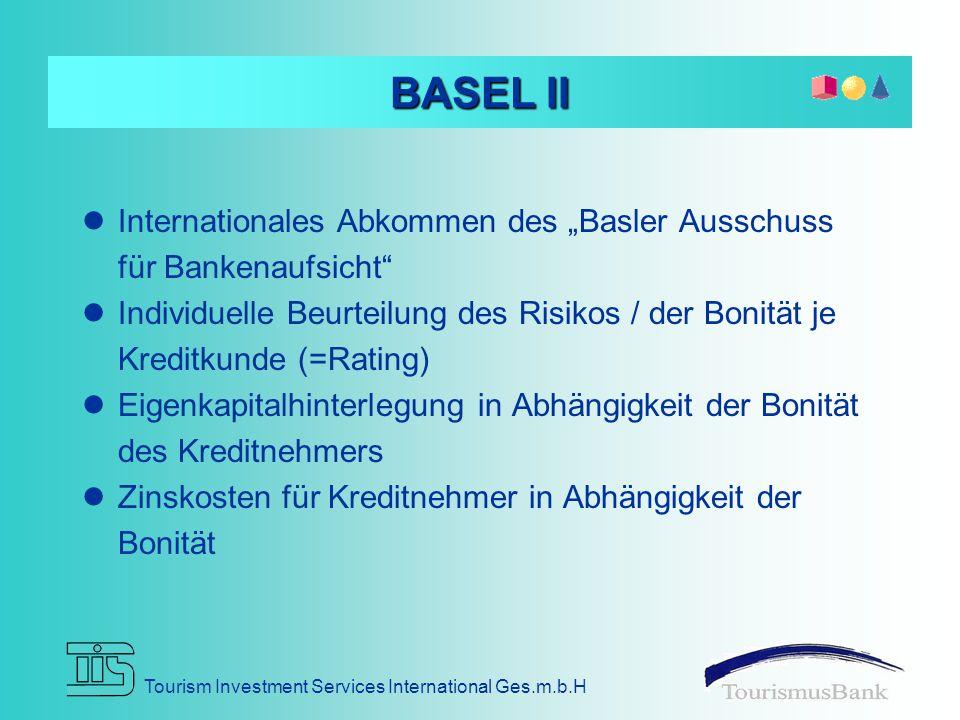 """BASEL II Internationales Abkommen des """"Basler Ausschuss für Bankenaufsicht"""