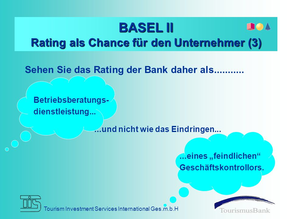 BASEL II Rating als Chance für den Unternehmer (3)