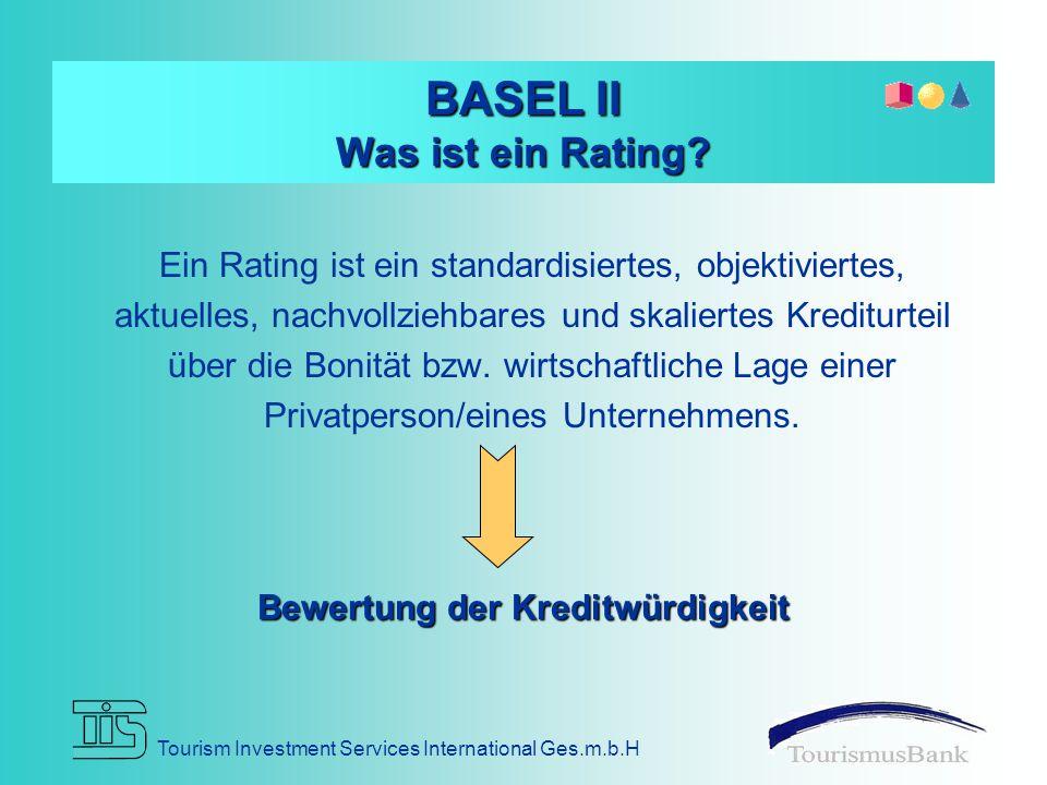 BASEL II Was ist ein Rating