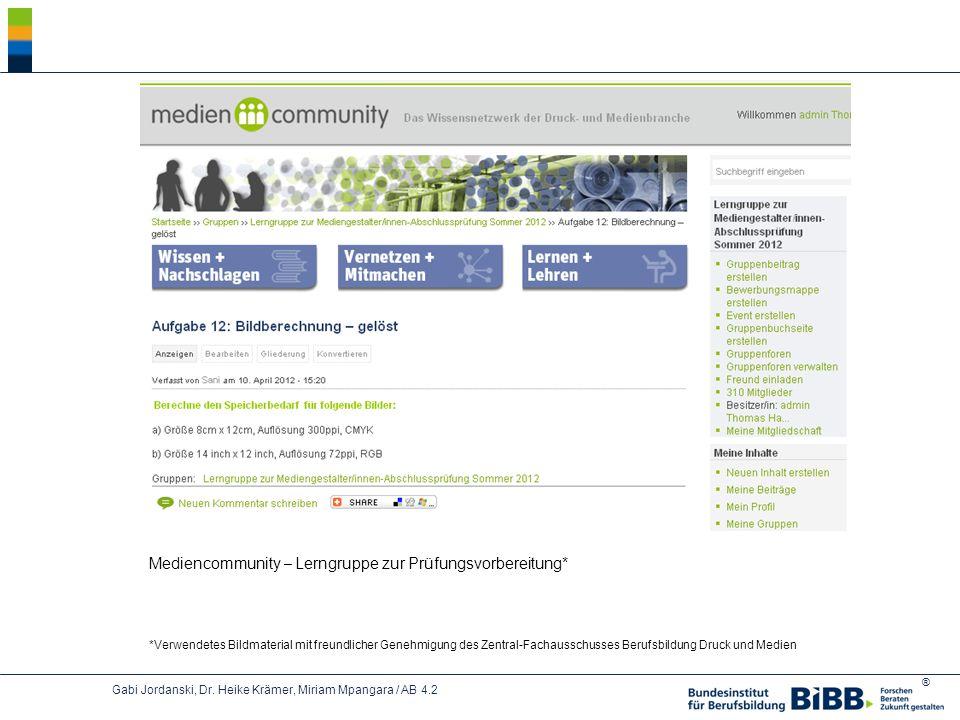 Mediencommunity – Lerngruppe zur Prüfungsvorbereitung*