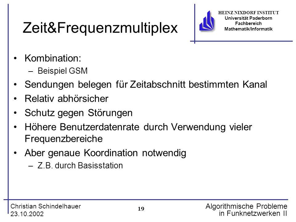 Zeit&Frequenzmultiplex