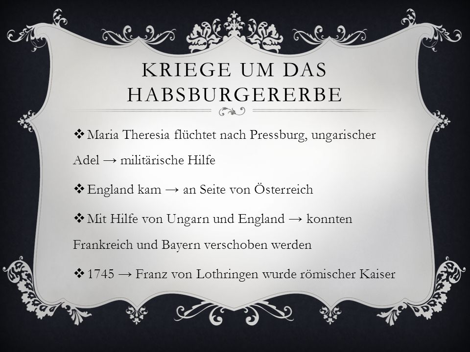 Kriege um das Habsburgererbe