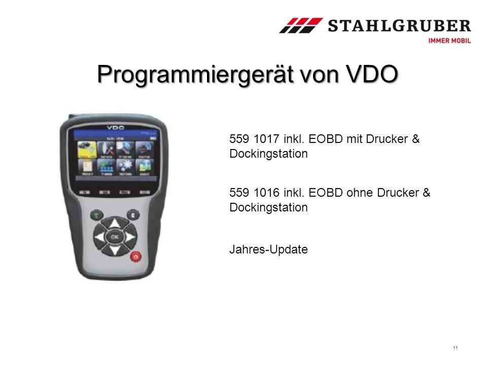 Programmiergerät von VDO