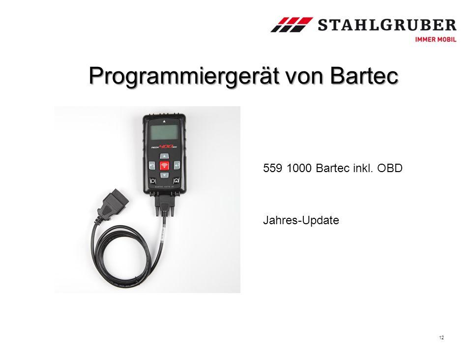 Programmiergerät von Bartec