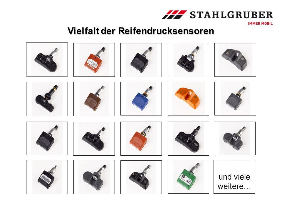 Vielfalt der Reifendrucksensoren