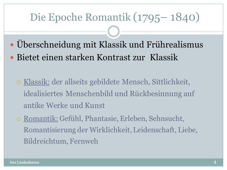 Die Epoche Romantik (1795– 1840)