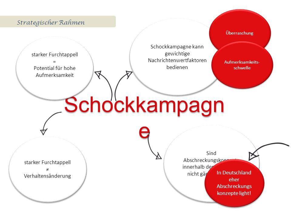Schockkampagne Strategischer Rahmen