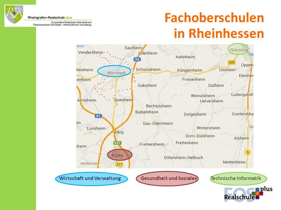 Fachoberschulen in Rheinhessen