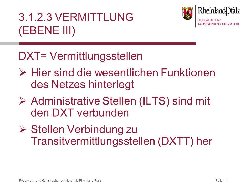 3.1.2.3 Vermittlung (EBENE III)