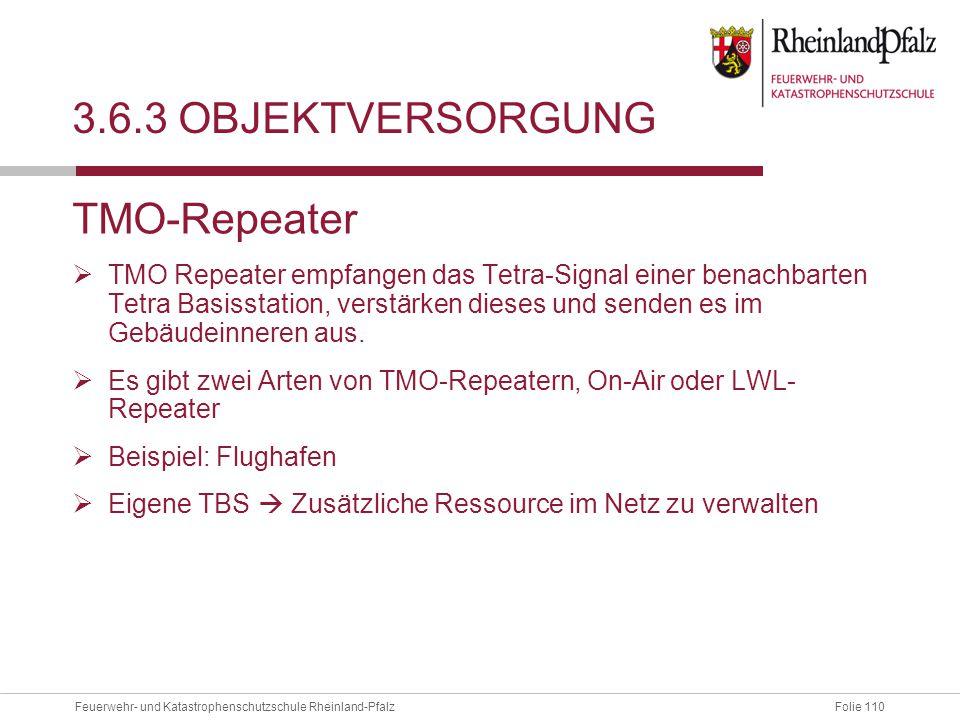 3.6.3 Objektversorgung TMO-Repeater