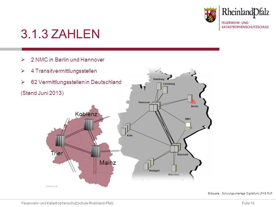 3.1.3 Zahlen Koblenz Trier Mainz 2 NMC in Berlin und Hannover