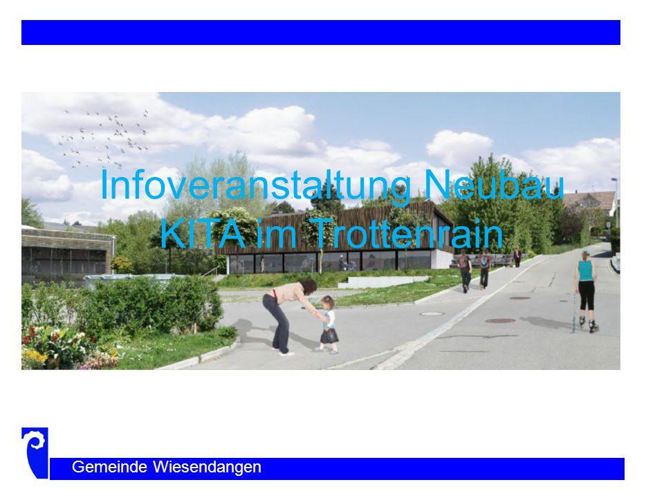 Infoveranstaltung Neubau KITA im Trottenrain