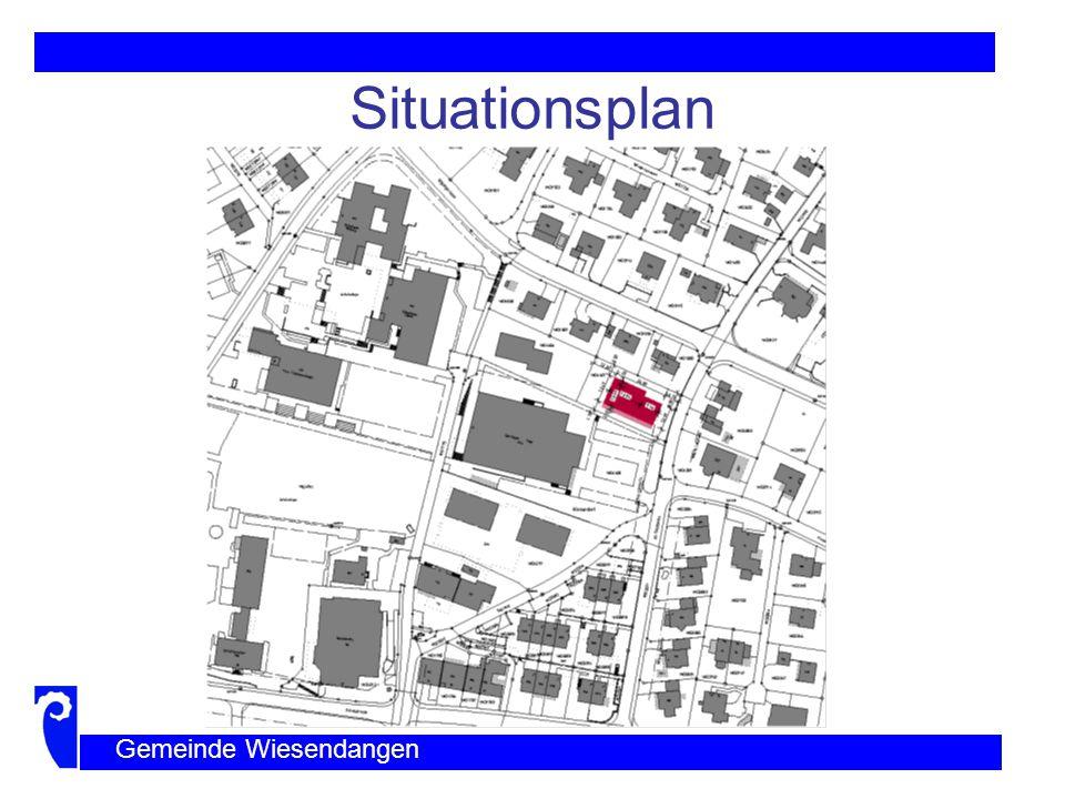 Situationsplan Gemeinde Wiesendangen