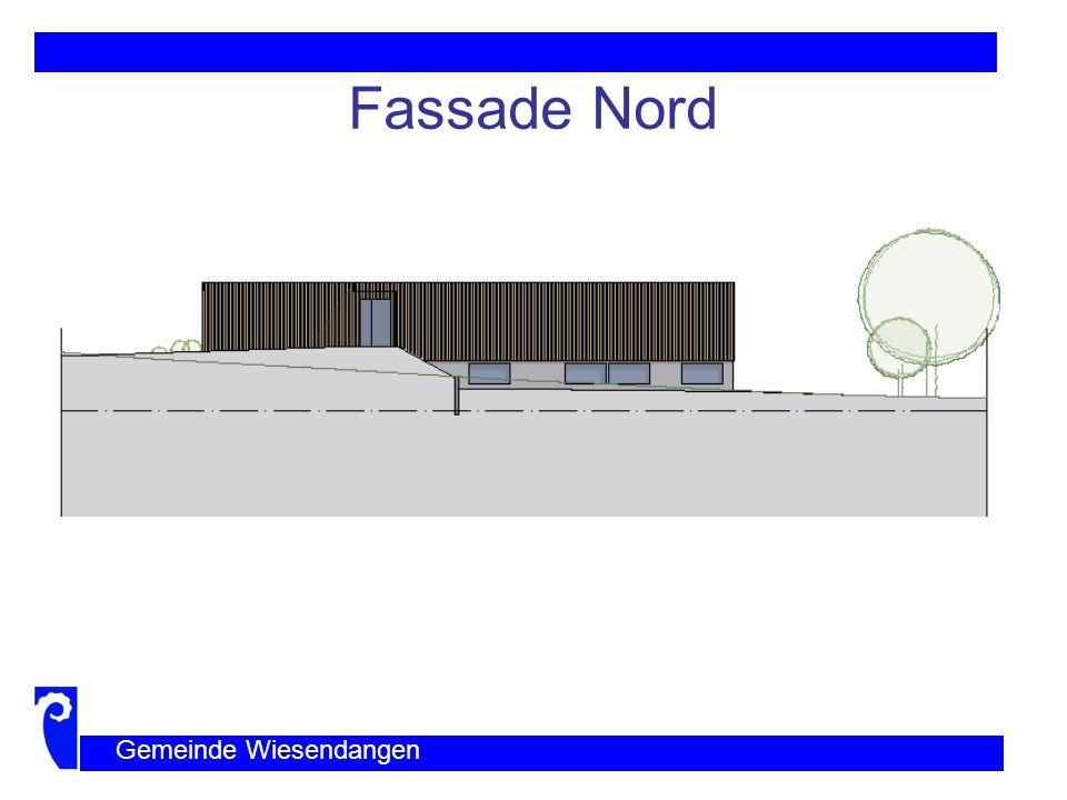Fassade Nord Gemeinde Wiesendangen