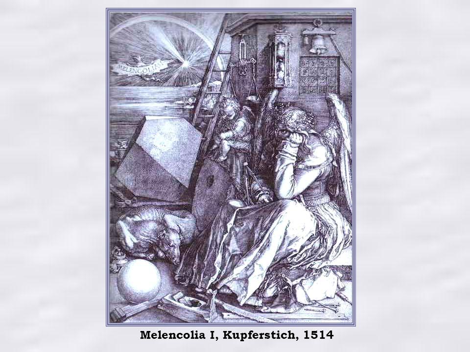 Melencolia I, Kupferstich, 1514