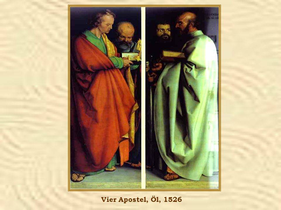 Vier Apostel, Öl, 1526