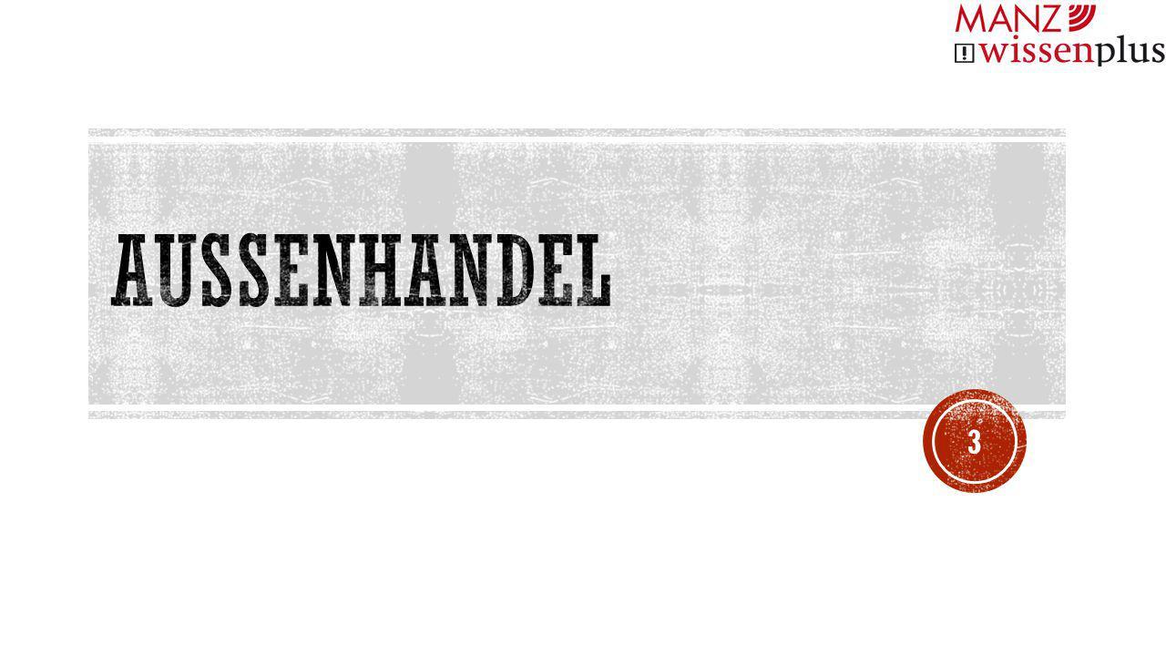 AUSSENHANDEL