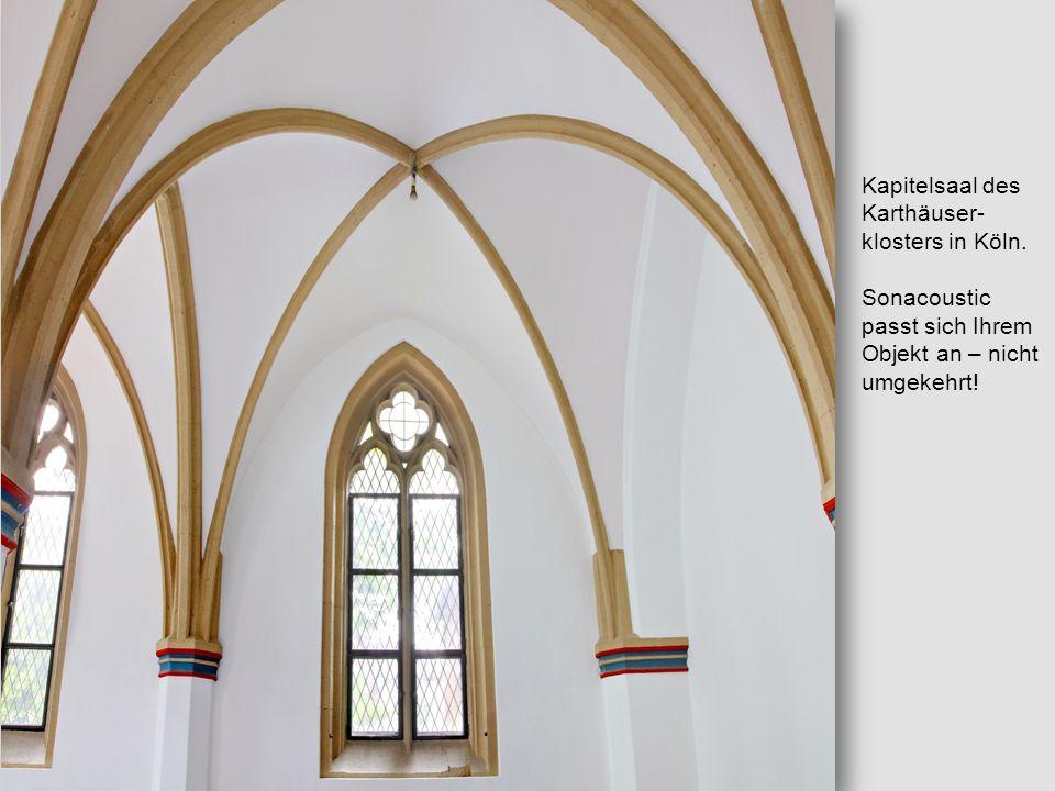 Kapitelsaal des Karthäuser-klosters in Köln.