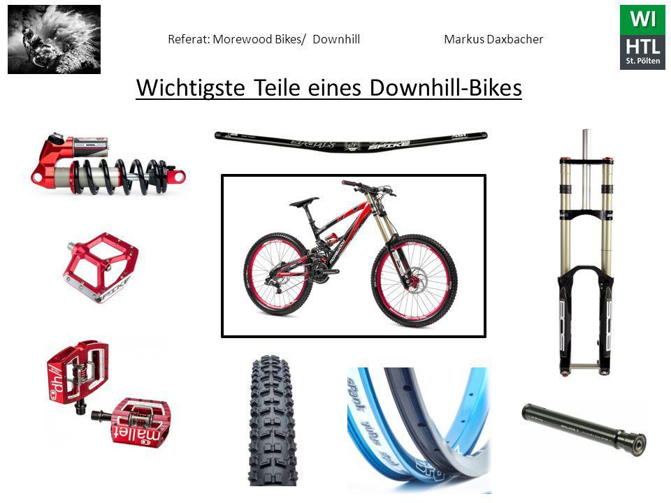 Wichtigste Teile eines Downhill-Bikes