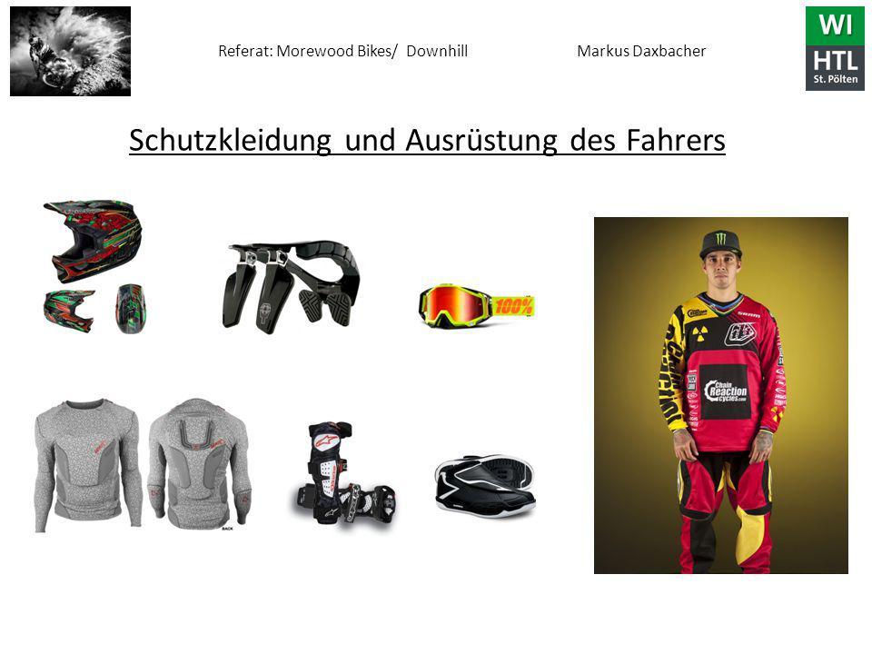 Schutzkleidung und Ausrüstung des Fahrers