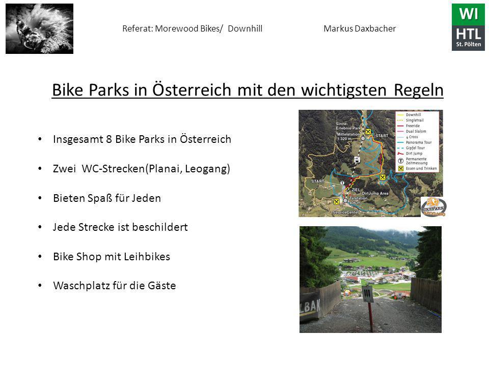 Bike Parks in Österreich mit den wichtigsten Regeln