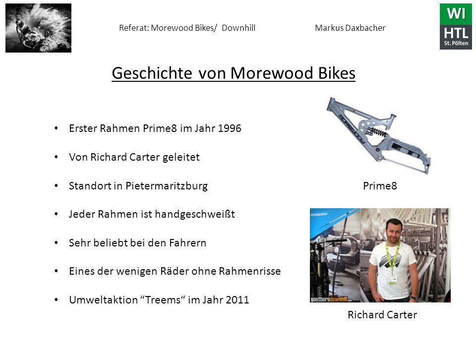 Geschichte von Morewood Bikes