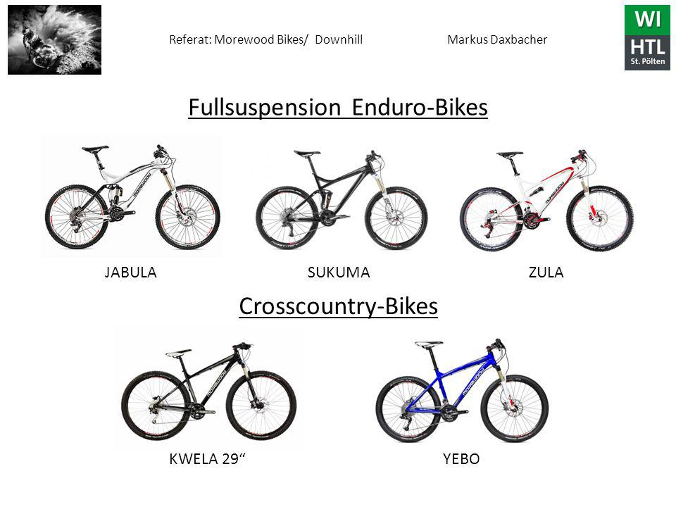 Fullsuspension Enduro-Bikes