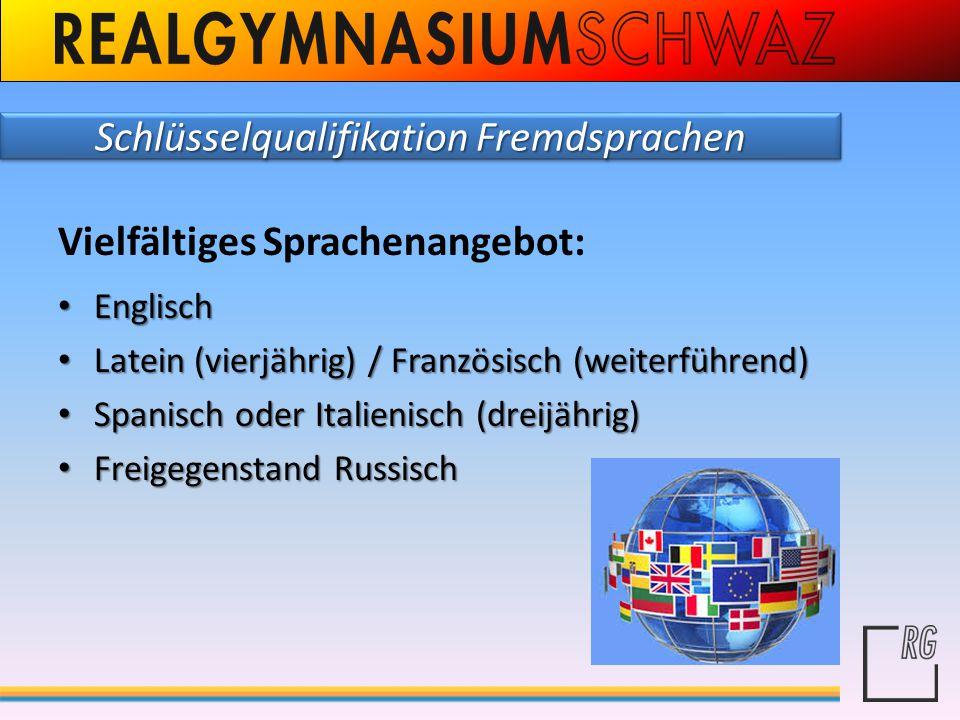 Schlüsselqualifikation Fremdsprachen