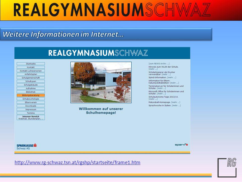 Weitere Informationen im Internet…