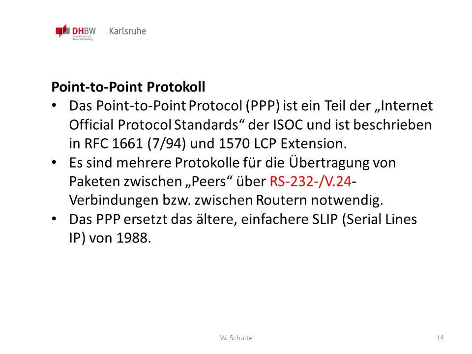 Point-to-Point Protokoll