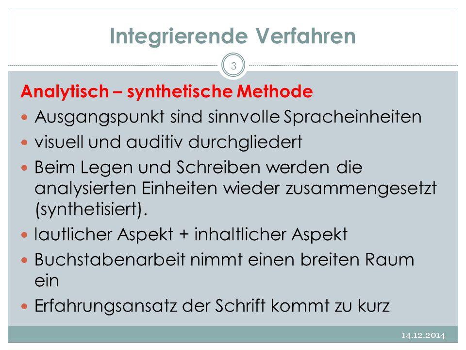 Integrierende Verfahren