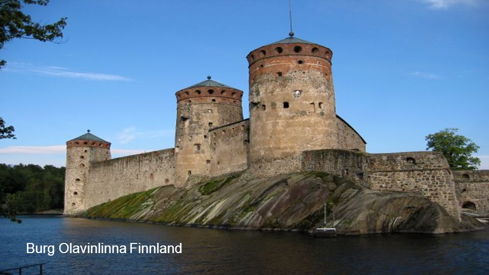 Burg Olavinlinna Finnland