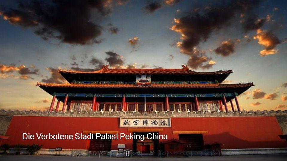 Die Verbotene Stadt Palast Peking China