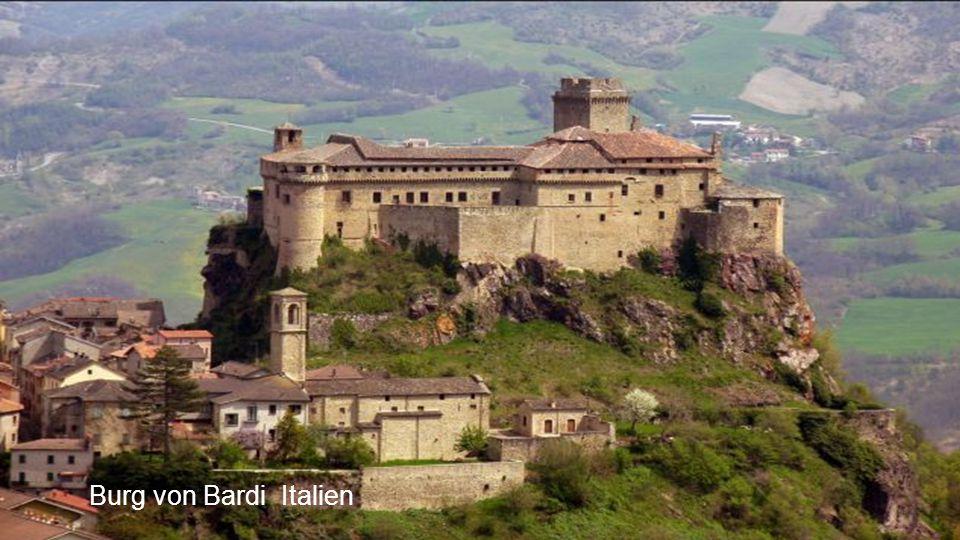 Burg von Bardi Italien