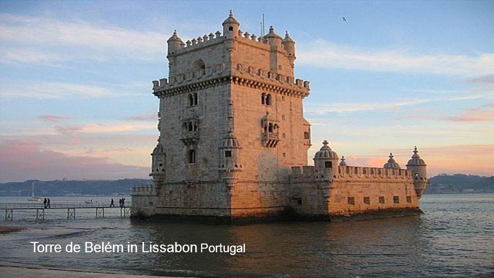 Torre de Belém in Lissabon Portugal