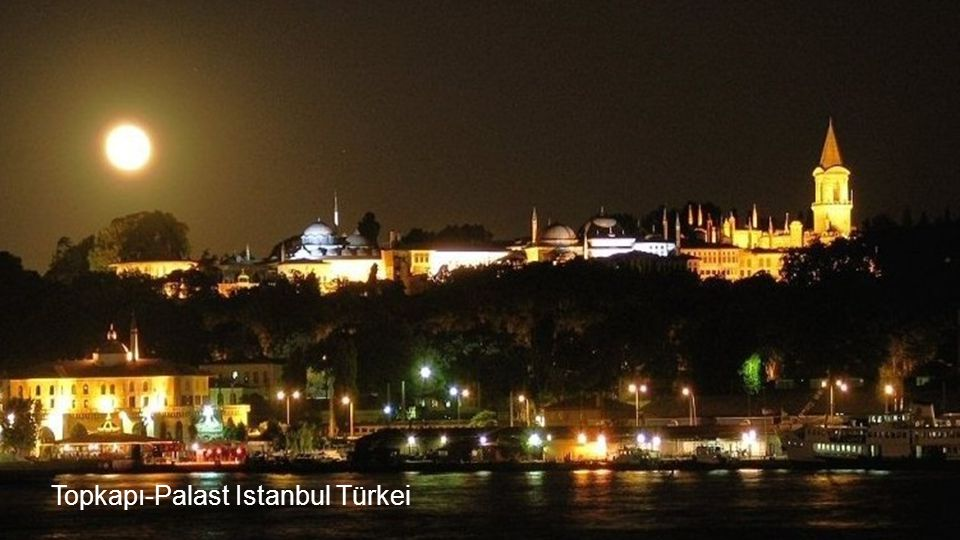 Topkapı-Palast Istanbul Türkei