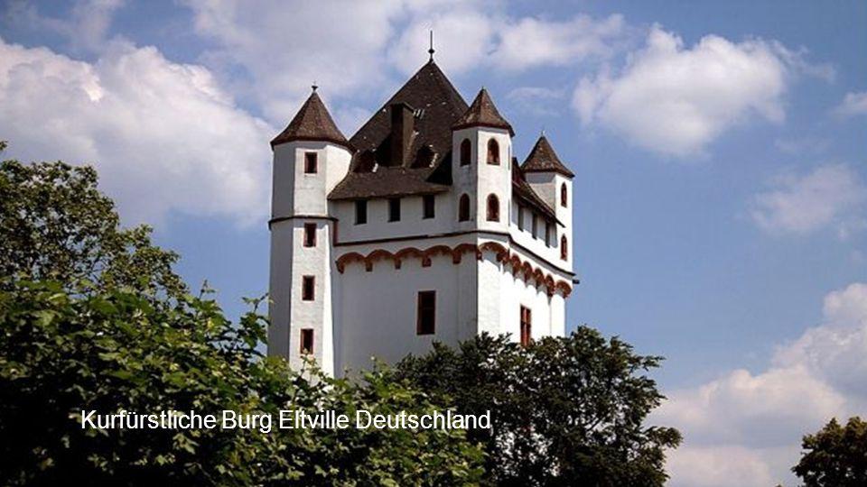 Kurfürstliche Burg Eltville Deutschland