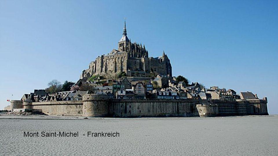 Mont Saint-Michel - Frankreich