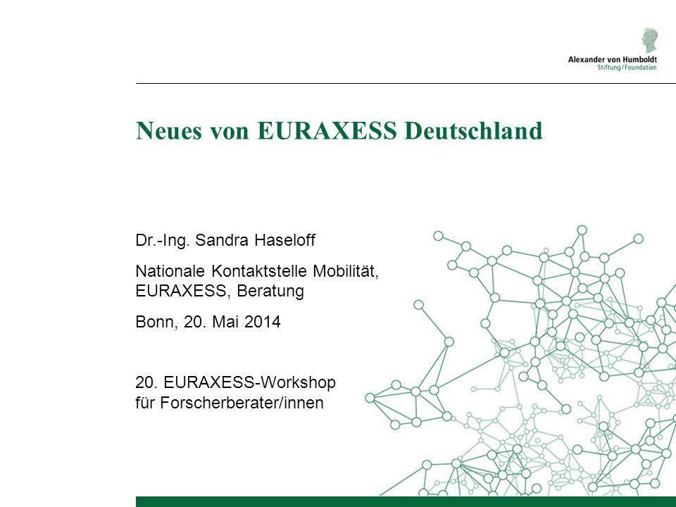 Neues von EURAXESS Deutschland