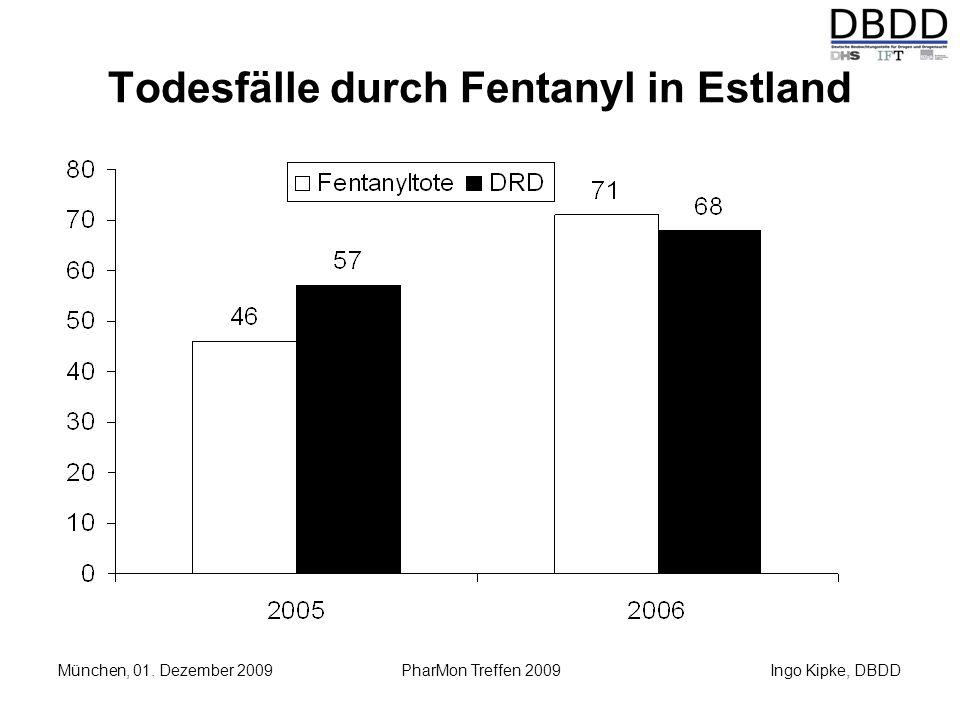 Todesfälle durch Fentanyl in Estland
