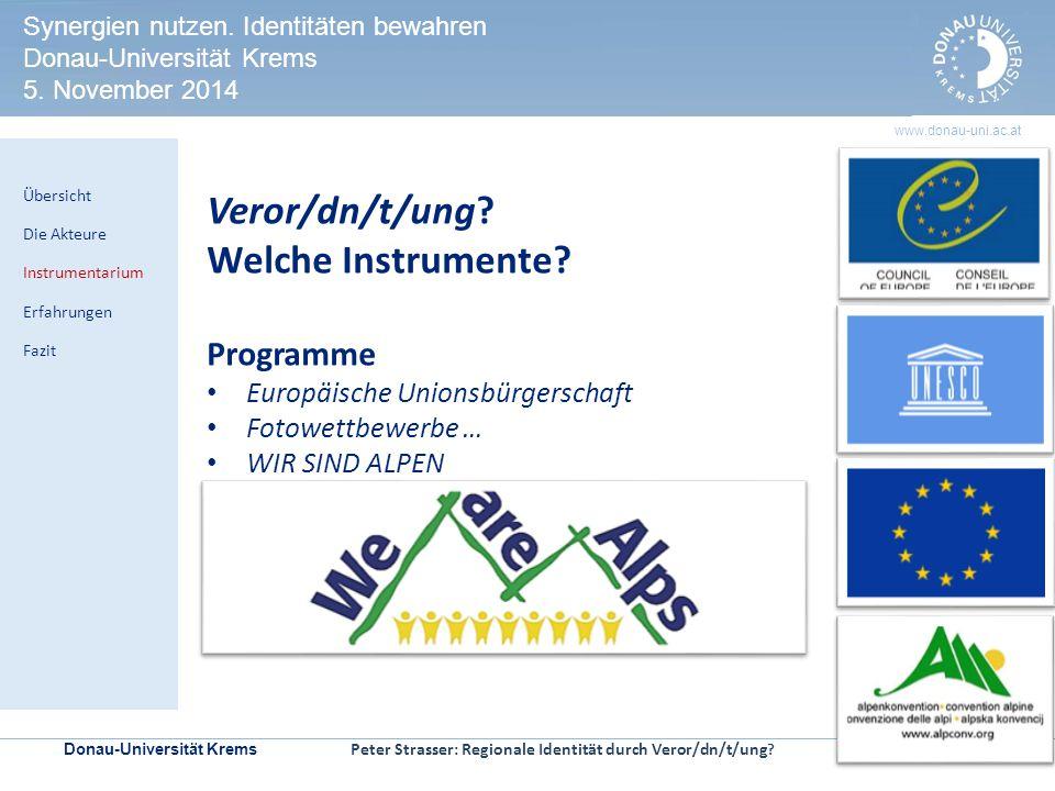 Veror/dn/t/ung Welche Instrumente Programme