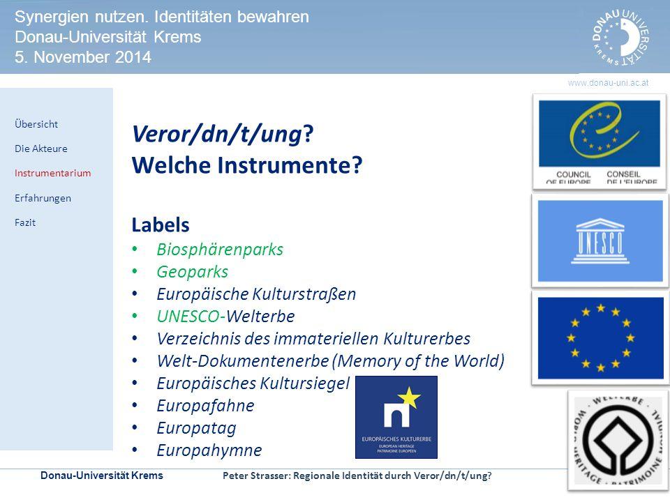Veror/dn/t/ung Welche Instrumente Labels Biosphärenparks Geoparks