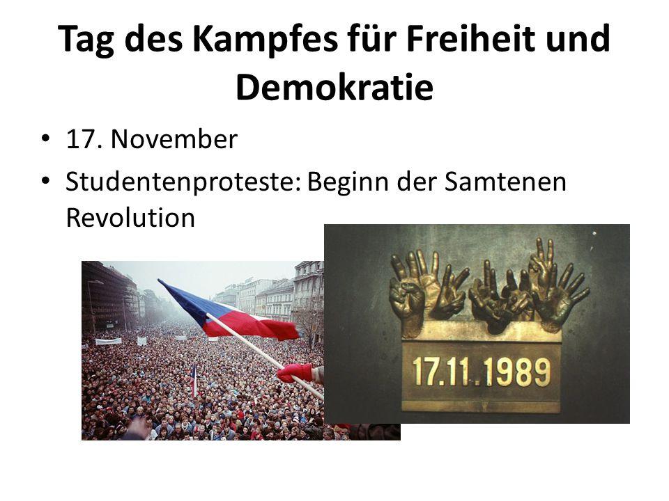 Tag des Kampfes für Freiheit und Demokratie