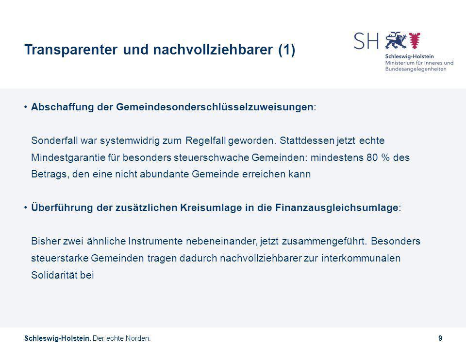 Transparenter und nachvollziehbarer (1)