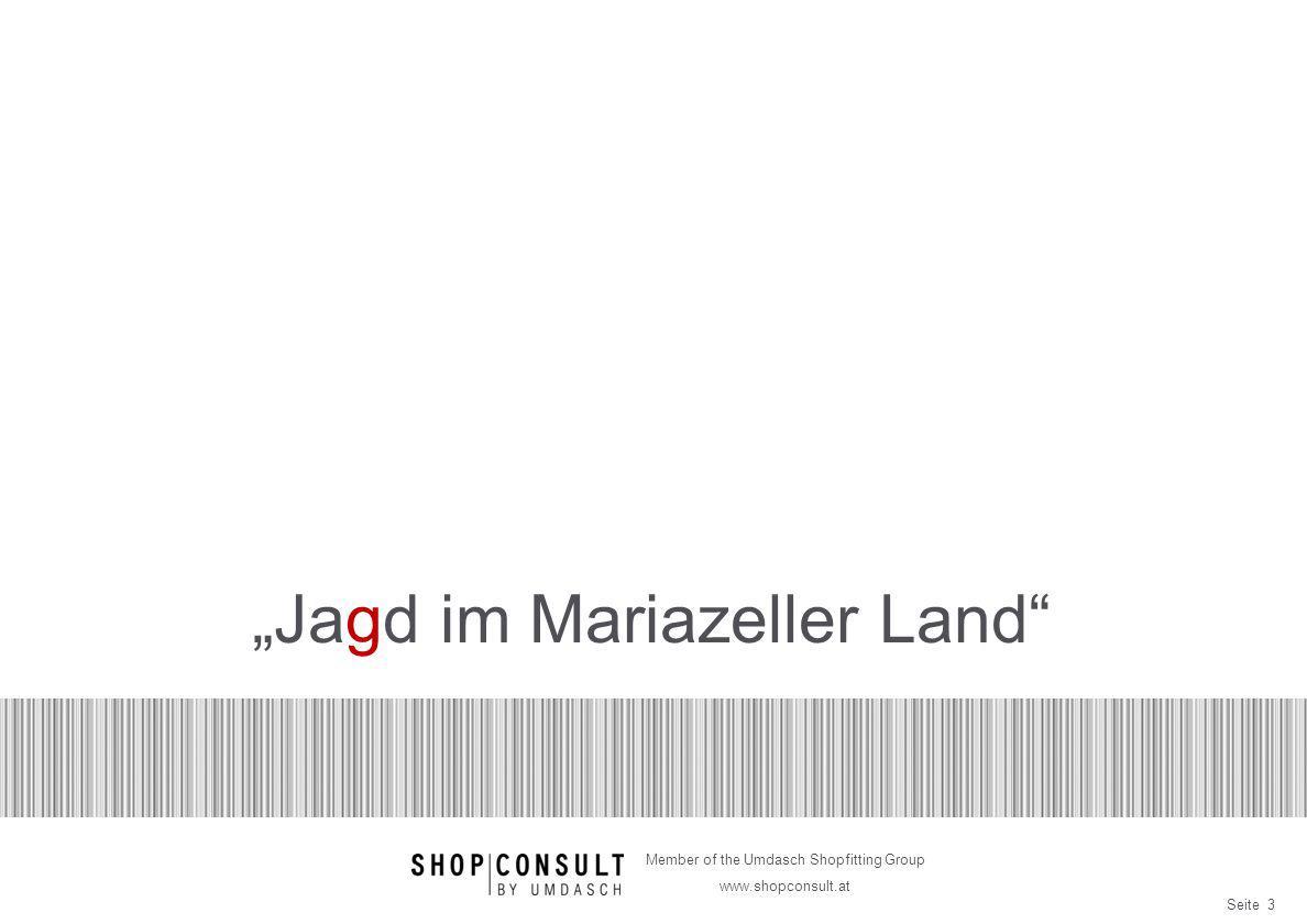 """Jagd im Mariazeller Land"