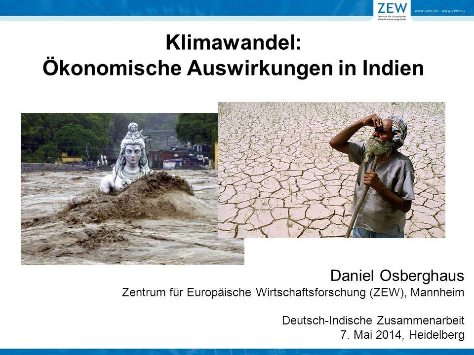 Klimawandel: Ökonomische Auswirkungen in Indien