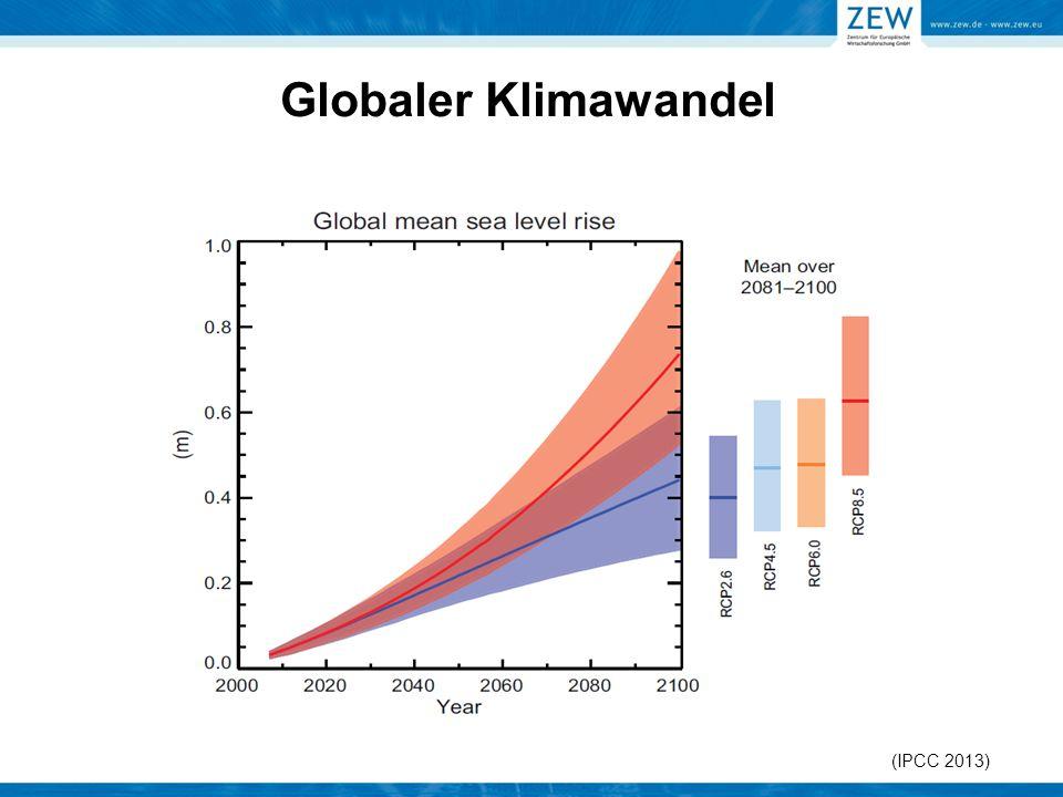 Globaler Klimawandel (IPCC 2013)
