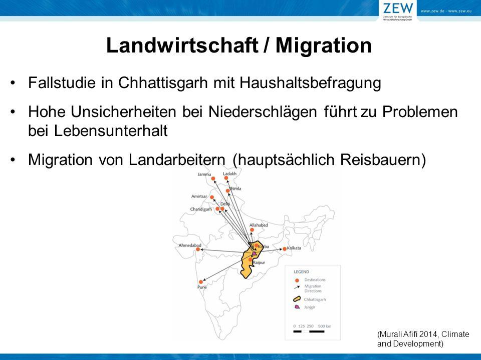 Landwirtschaft / Migration